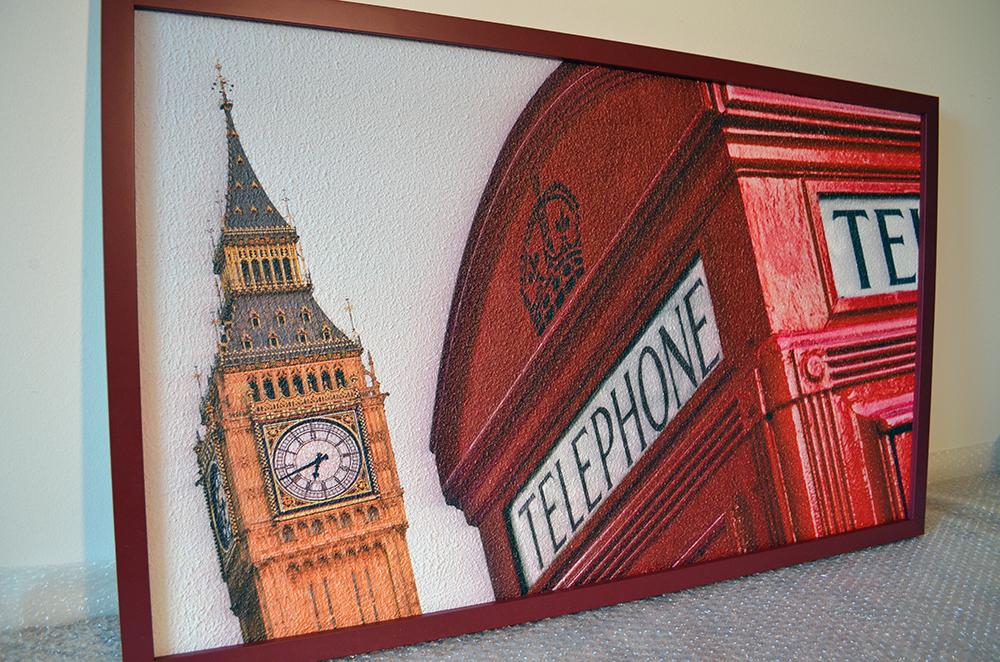 infrapanel 180W - Big Ben a telefonní budka