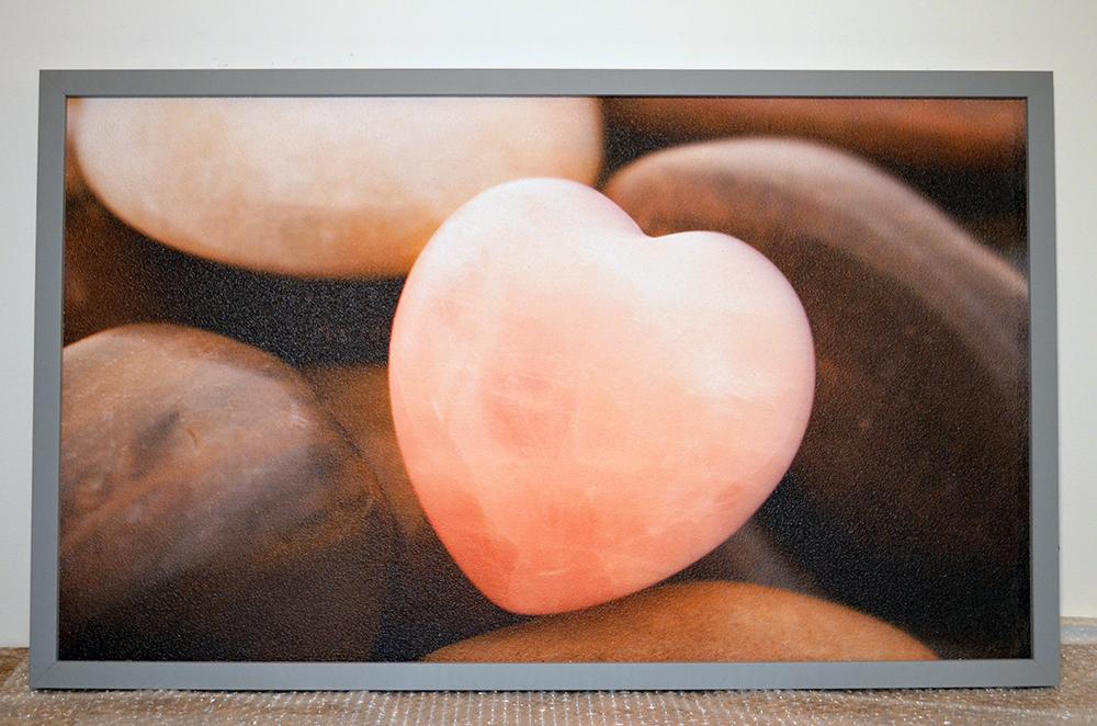 """360W - Infrapanel """"Kamínkové srdce"""""""