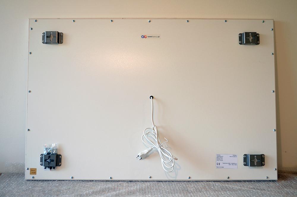 540W - Infrapanel Lev - zadní strana