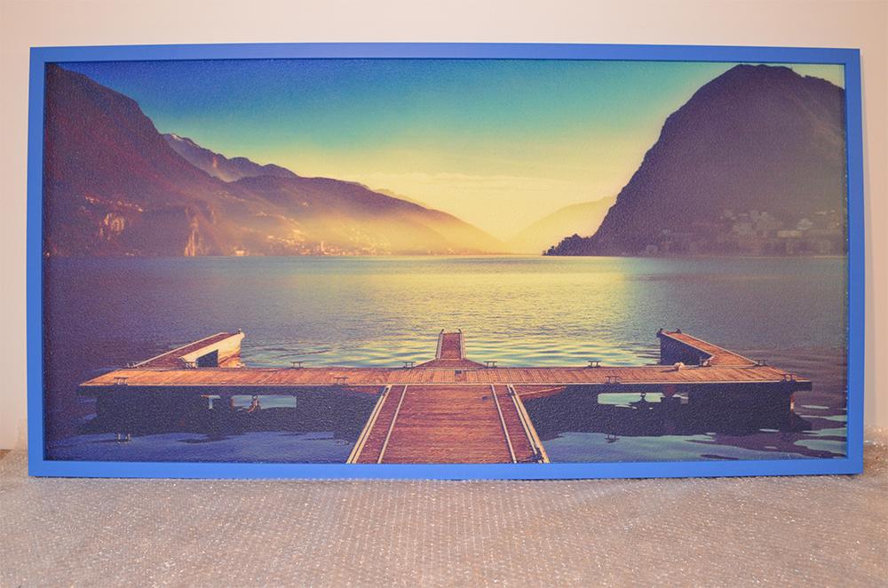 720W - Infrapanel Molo na jezeře