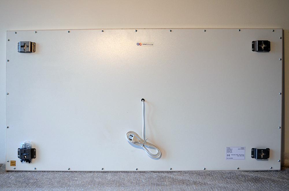 720W - Infrapanel Pole slunečnic - zadní strana