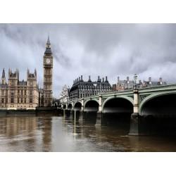 infrapanel - Deštivý Londýn