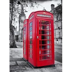 infrapanel - Londýnské telefonní budky