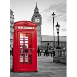 infrapanel - Červená telefonní budka
