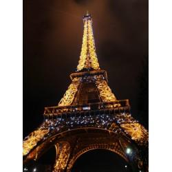 infrapanel - Noční Eiffelova věž