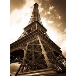 infrapanel - Retro fotografie Eiffelovy věže
