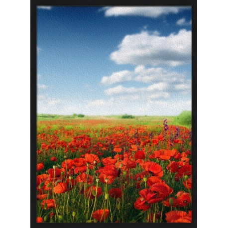 Topný obraz - Zelené panorama