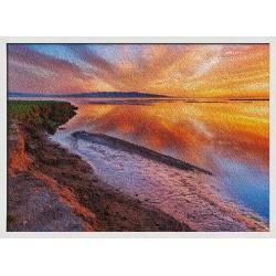 Topný obraz - Západ Slunce na pláži