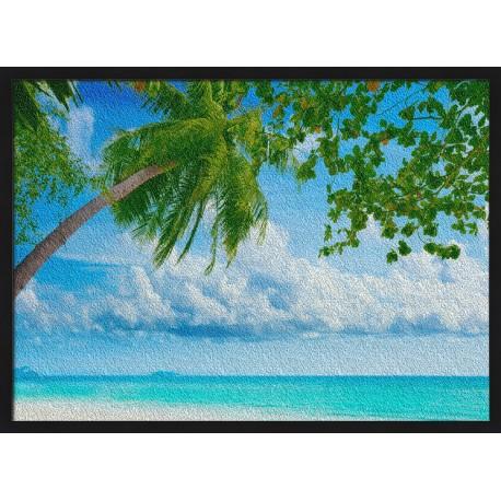Topný obraz - Palmový ráj