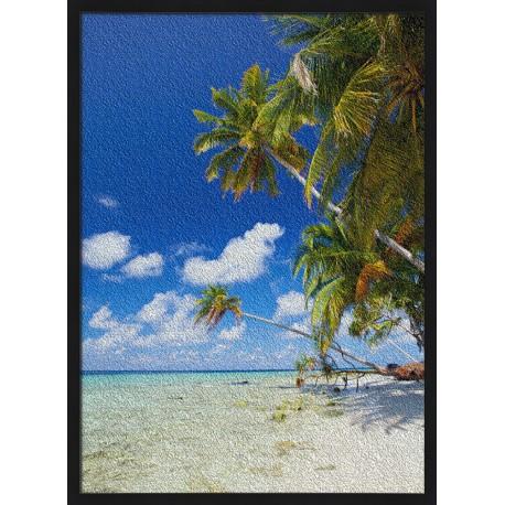 Topný obraz - Tropická pláž