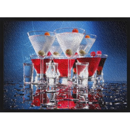 Topný obraz - Koktejly