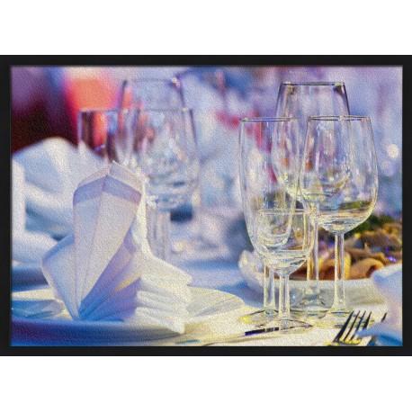 Topný obraz - Prostřený stůl