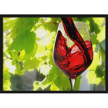 Topný obraz - Červené víno