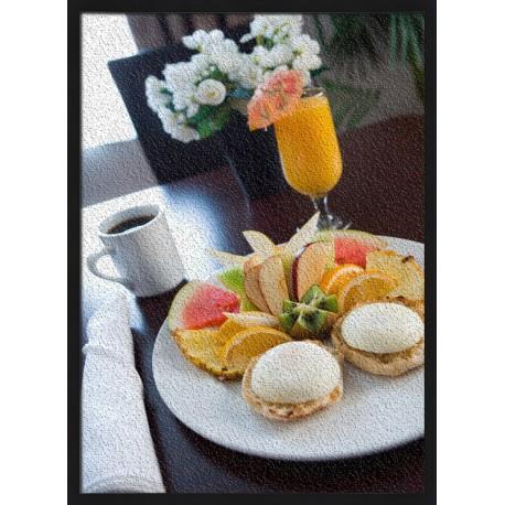 Topný obraz - Hotelová snídaně