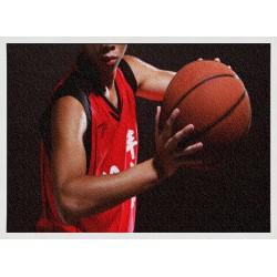 Topný obraz - Basketball
