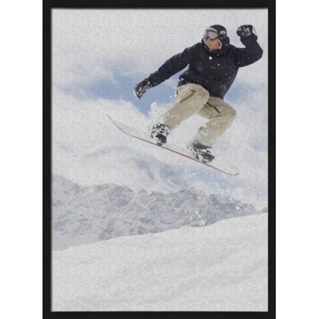 Topný obraz - Snowboard
