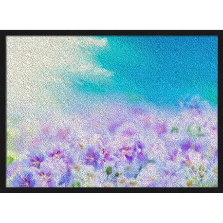 Topný obraz - Květinová louka