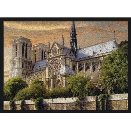 Topný obraz - Katedrála Notre-Dame