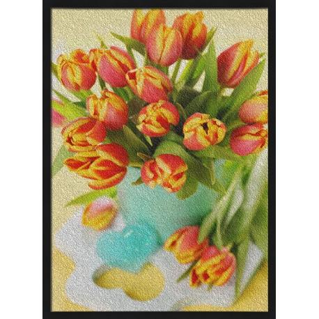 Topný obraz - Květiny ve váze