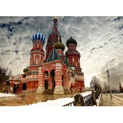 infrapanel - Chrám Vasila Blaženého