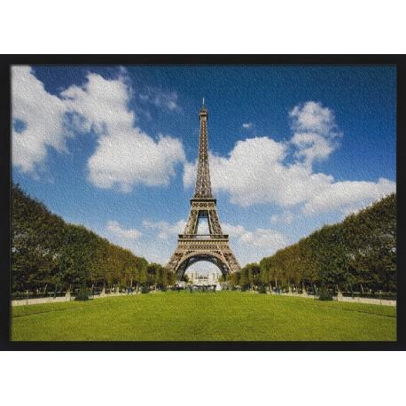 Topný obraz - Letní park a Eiffelova věž