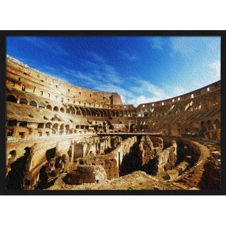 Topný obraz - Flaviovský amfiteátr
