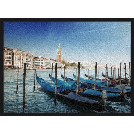 Topný obraz - Gondoly v Benátkách