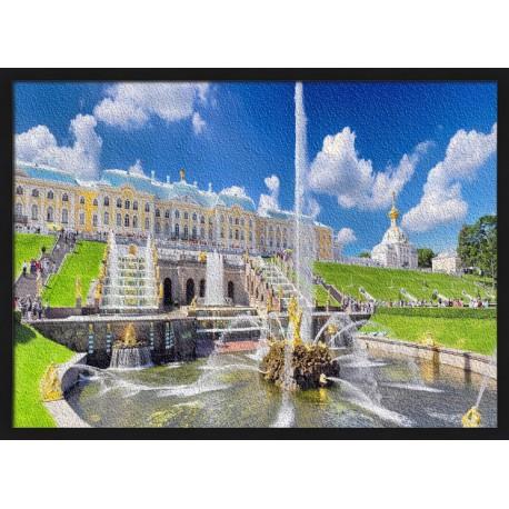 Topný obraz - Petrohrad