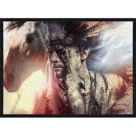 Topný obraz - Indiánský náčelník