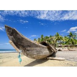 infrapanel - Loď na pláži
