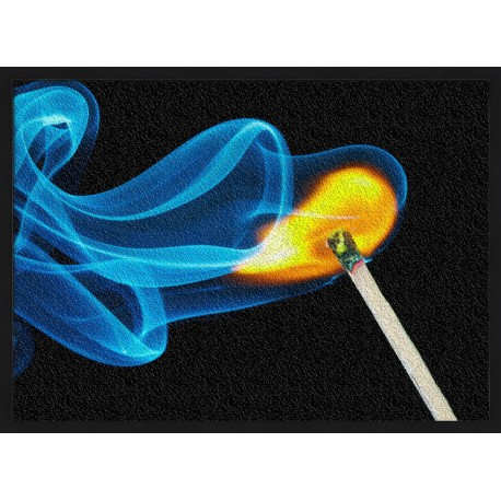 Topný obraz - Hořící sirka