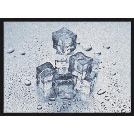 Topný obraz - Kostky ledu