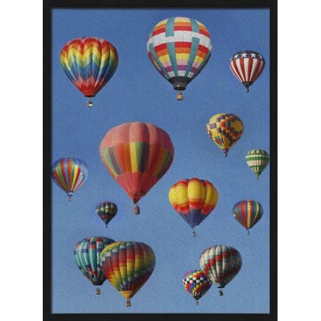 Topný obraz - Horkovzdušné balóny