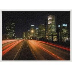 Topný obraz - Noční město