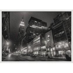Topný obraz - Černobílý New York