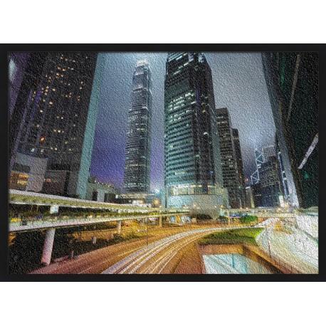 Topný obraz - Noční vyjížďka