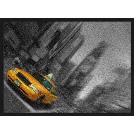 Topný obraz -Taxi