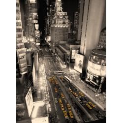 infrapanel - Taxi v ulicích New Yorku