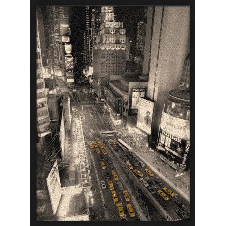 Topný obraz - Taxi v ulicích New Yorku