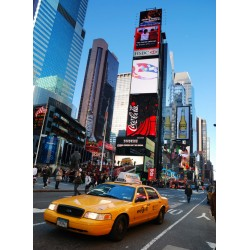 infrapanel - Taxi na Time Square