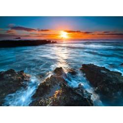 infrapanel - Pobřeží se západem slunce