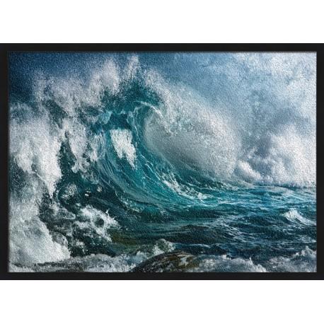 Topný obraz - Mořské vlny