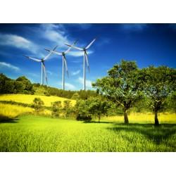 infrapanel - Větrné elektrárny na louce