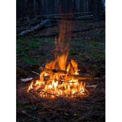 infrapanel - Táborový oheň