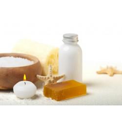 infrapanel - Relaxační sůl a svíčka