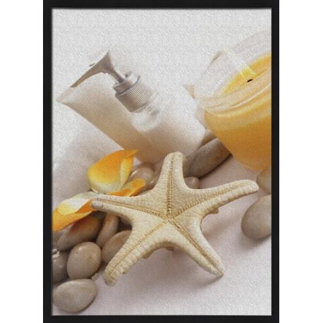 Topný obraz - SVíčka a hvězdice