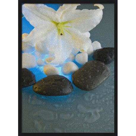 Topný obraz - Květ s kameny