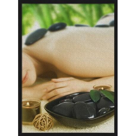 Topný obraz - Relaxační masáž zad