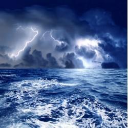 infrapanel - Rozbouřené moře