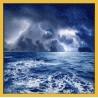 Topný obraz - Rozbouřené moře